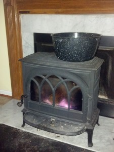 Stove In Action